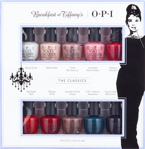 OPI Collection Breakfast at Tiffany's