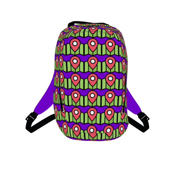 Location Maps Icon Backpack