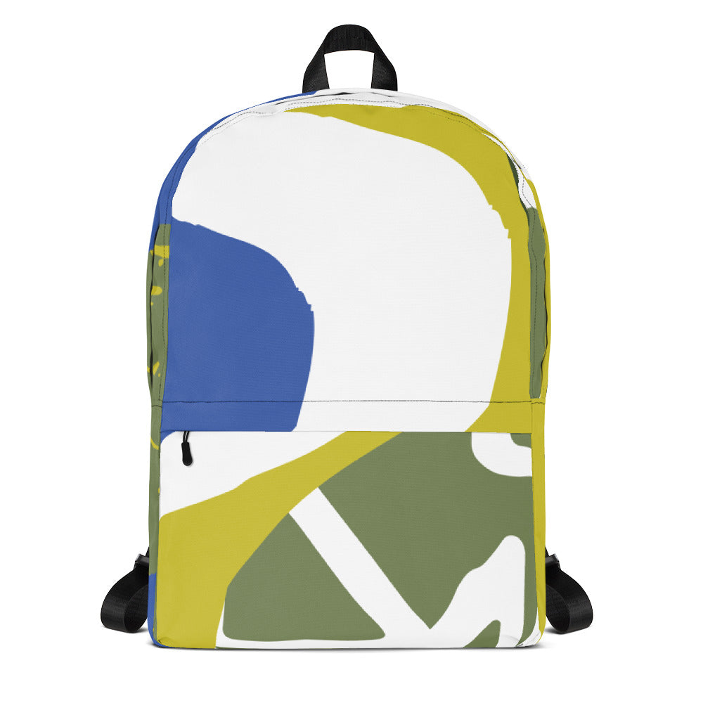 Abstract Curvatures Backpack