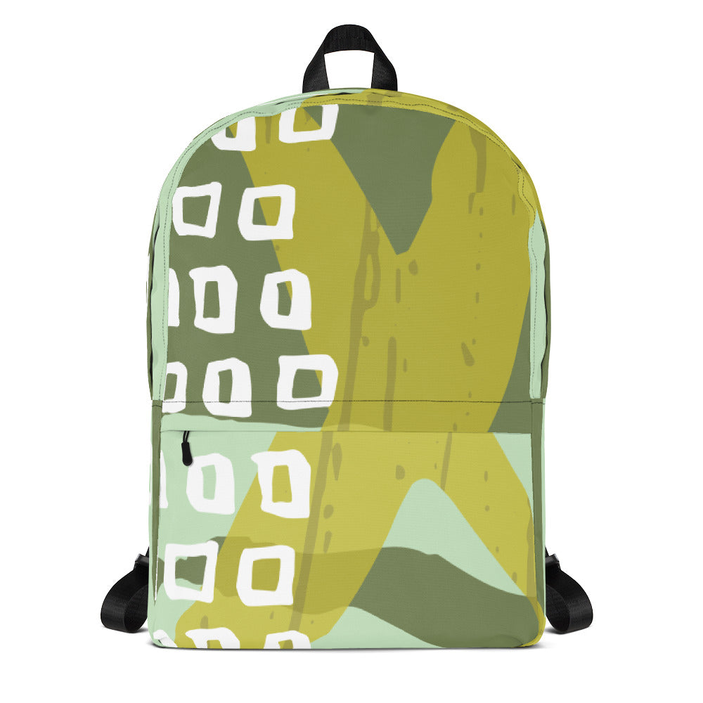 X&Squares Abstract Backpack