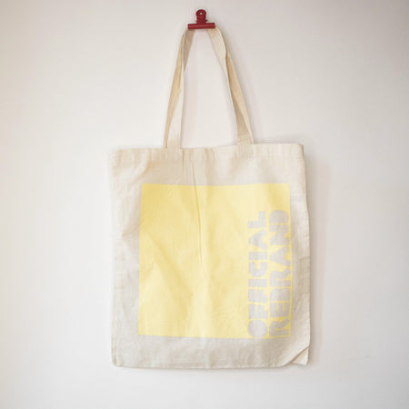 OFFICIAL REBRAND OVERPRINT tote