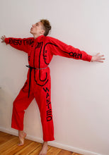 Load image into Gallery viewer, EVERY THING jumpsuit (red)