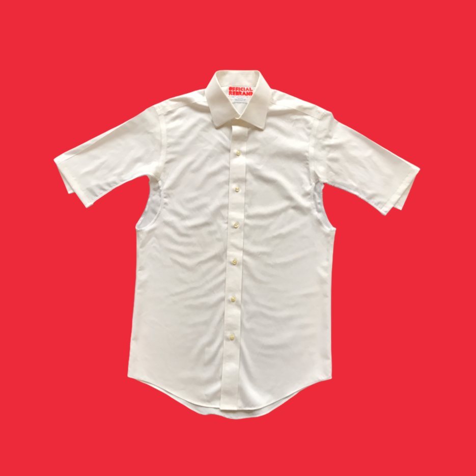 CUT-OUT button-down