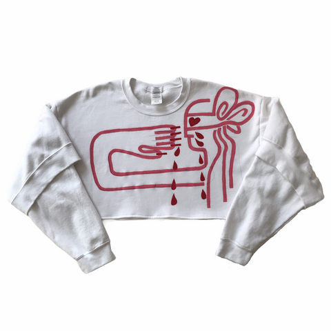 MATISSE-sleeve sweatshirt (Oedipus in love)