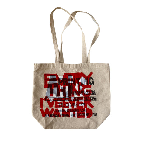 EVERYTHING I'VE EVER WANTED bag