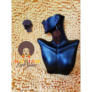 Headwrap and Fro Earring
