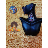 Colorful Motherland Drop Earring