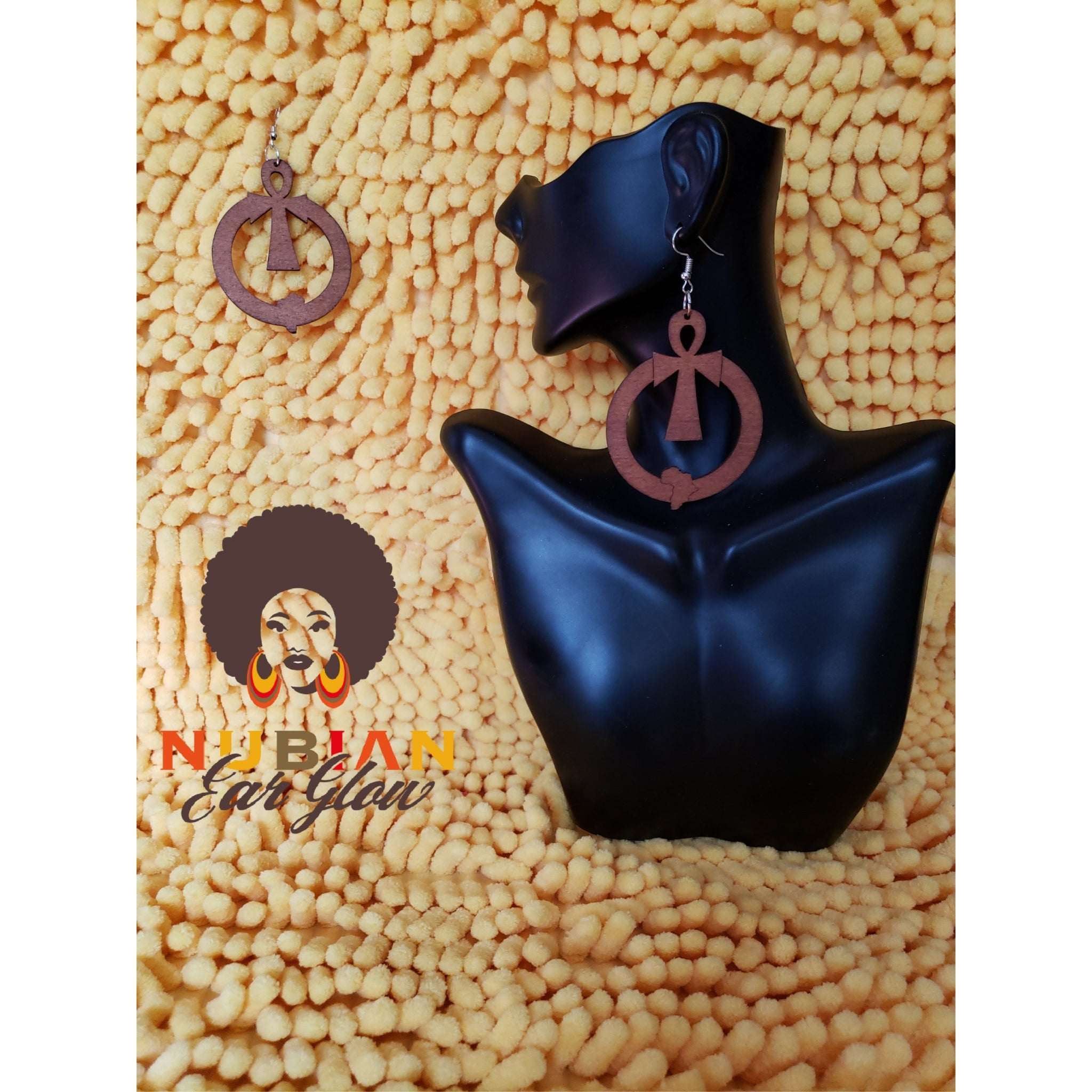 Brown Hoop Ankh