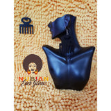 Afro Pick Drop Earring - Black