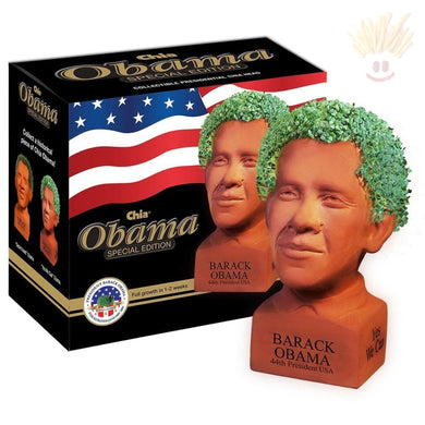Barack Obama Chia Pet - The Baked Potato Store