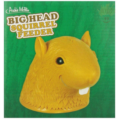 Big Head Squirrel Feeder Novelty Items