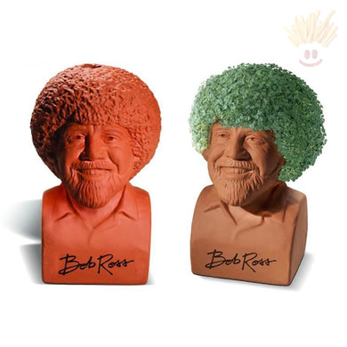 Bob Ross Chia Pet Novelty Items