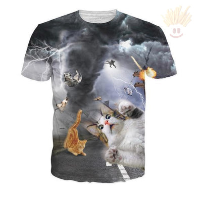 Catnado T-Shirt - The Baked Potato Store