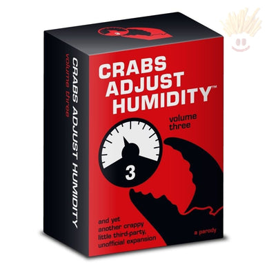 Crabs Adjust Humidity Playing Cards Vol. Three Novelty Items