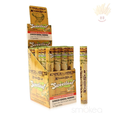 Cyclones Pre-Rolled Cone Blunt Wrap W/ Dank 7 Tip Rolling Papers