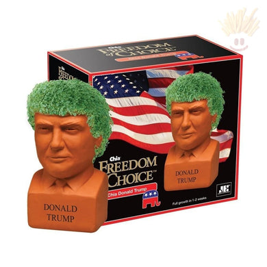 Donald Trump Chia Pet - The Baked Potato Store