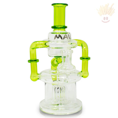 Double Uptake Hover Recycler Rig Ooze Bongs