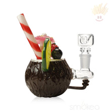 Empire Glassworks Coconut Colada Mini Rig Dab Rigs