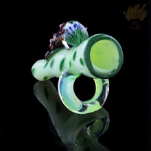 "Empire Glassworks ""Fred the Frog"" Chillum Pipe - The Baked Potato Store"