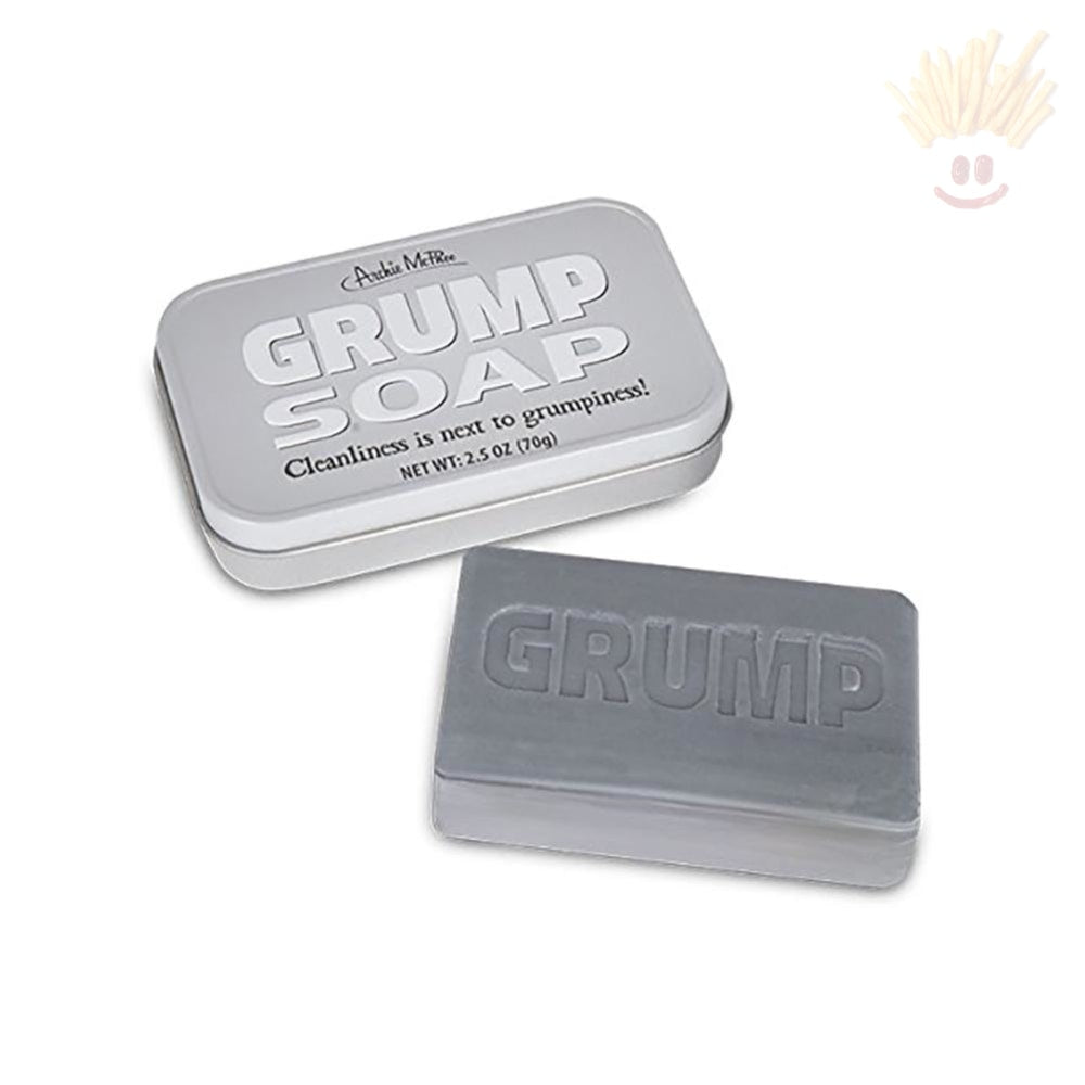 Grump 2.5oz Novelty Bath Soap - The Baked Potato Store
