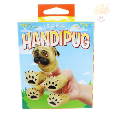 Handipug Finger Puppet (5-Pieces) Novelty Items