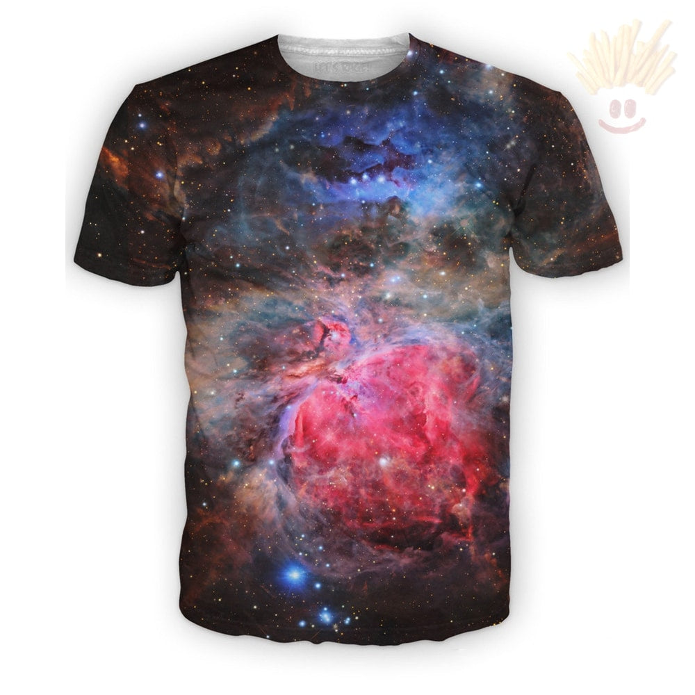 Heart Of The Universe T-Shirt Small / Ultra Premium Dark Salmon T-Shirts