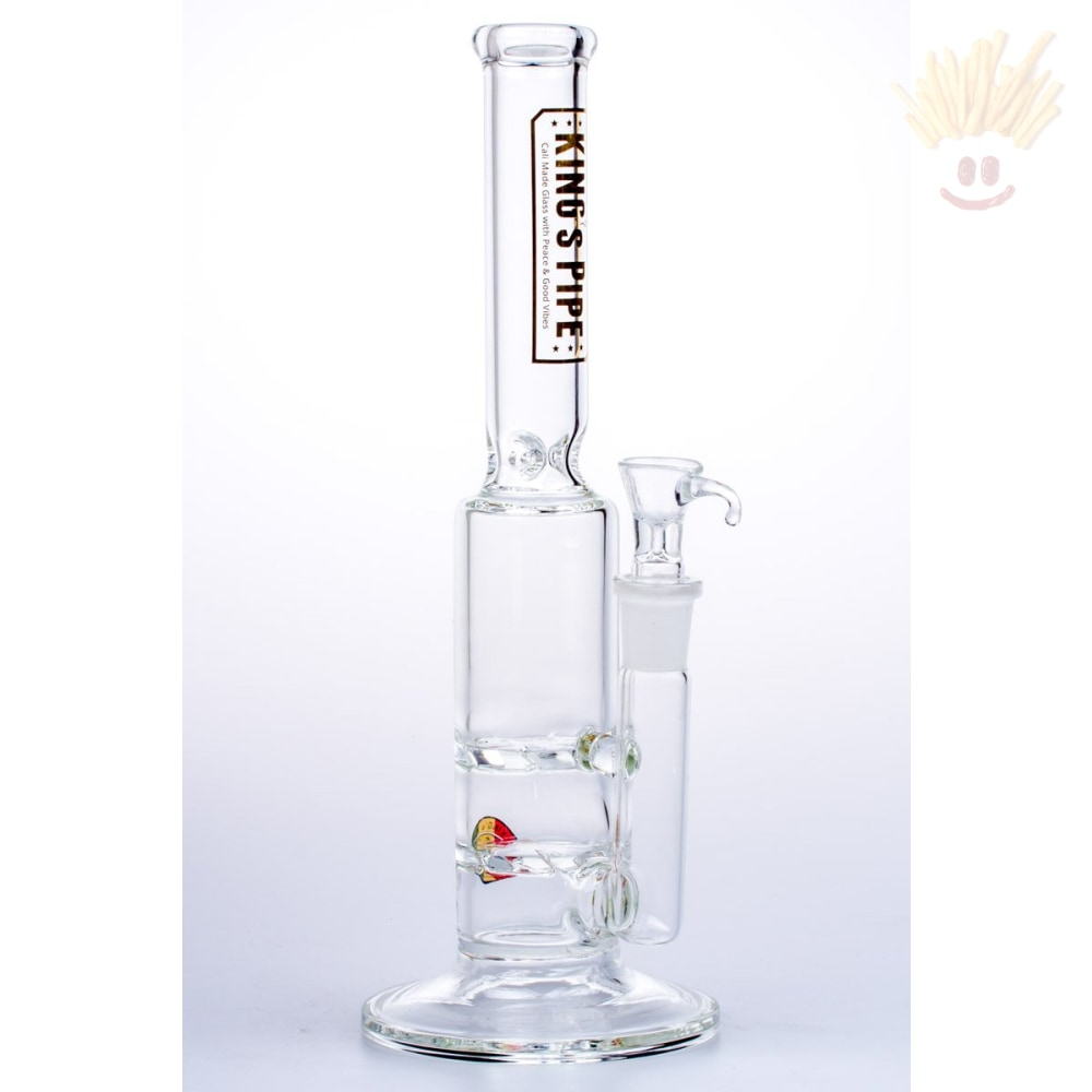 Kings Pipe 12 Double Tornado Bong Bongs