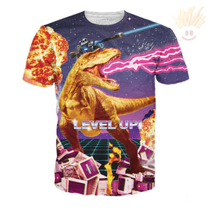 Level Up T-Shirt X-Small / Ultra Premium Lavender T-Shirts