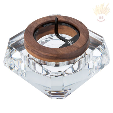 Marley Natural Crystal Ashtray Accessories