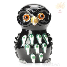 Mathematix Colored Owl Hand Pipe Black Pipes