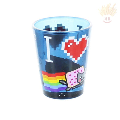 Nyan Cat Shot Glass Novelty Items