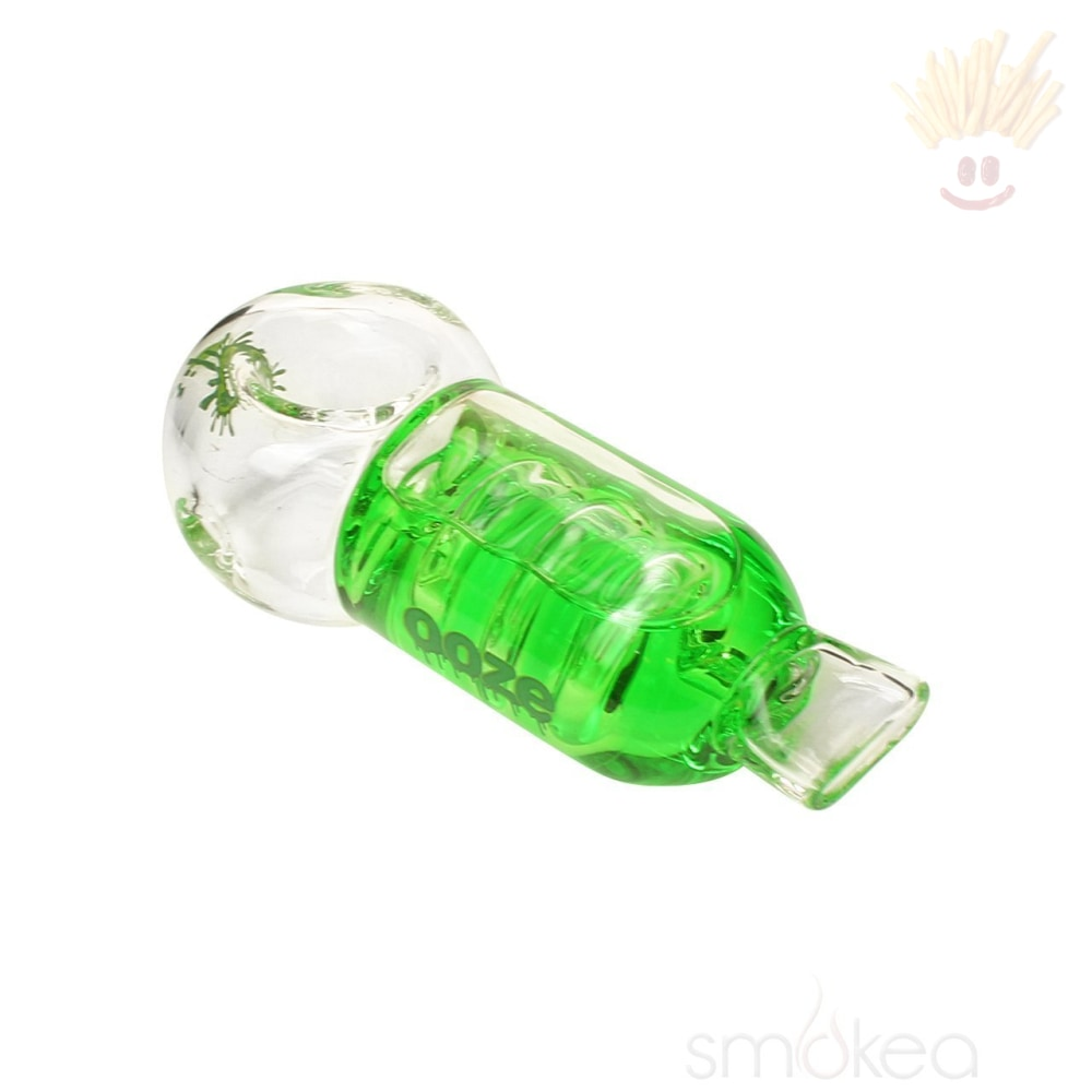 Ooze Cryo Glycerin Coil Hand Pipe Green Pipes