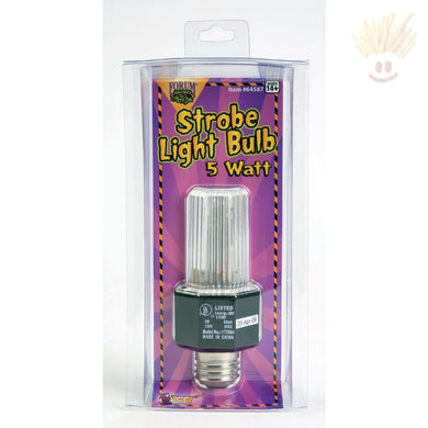 Party Strobe Light Bulb Novelty Items
