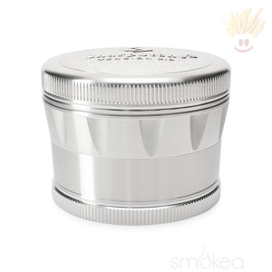 Sharpstone V2 Hard Top 2.5 4Pc Grinder Silver Herb Grinders