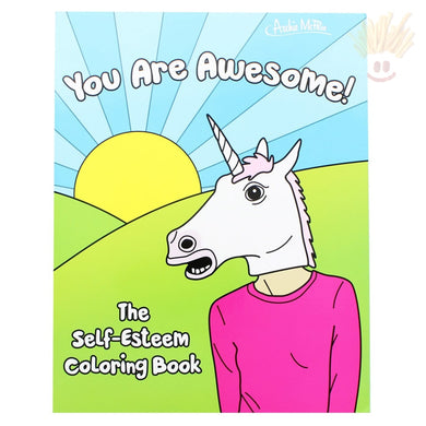 The Self-Esteem Coloring Book Novelty Items