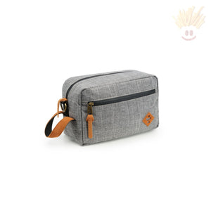 The Stowaway - Odor Absorbing Bag By Revelry Crosshatch Grey Accessories