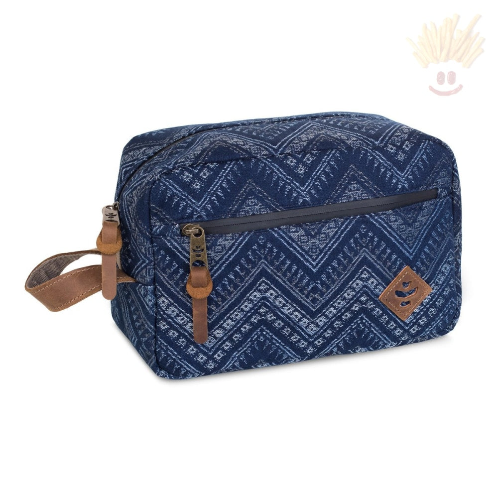 The Stowaway - Odor Absorbing Bag By Revelry Indigo Accessories