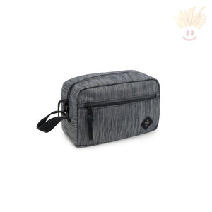 The Stowaway - Odor Absorbing Bag By Revelry Striped Dark Grey Accessories