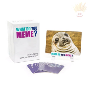 What Do You Meme Adult Party Game Novelty Items