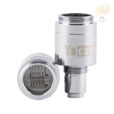Yocan Evolve Dual Quartz Atomizer - 5 Pack Vape Parts