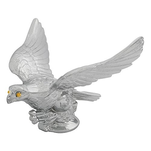 Grand General 48021 Chrome Flying Eagle Hood Ornament - Truck Driver Store