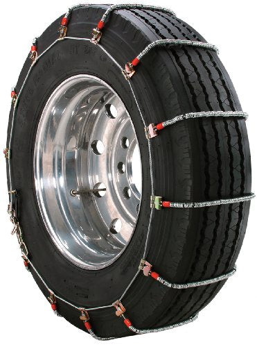 Security Chain Company TA1945 Alloy Radial Heavy Duty Truck Singles Tire Traction Chain - Set of 2 - Truck Driver Store