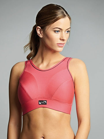 2e14fa559f Royce Impact Free Active Wear Bra in Coral