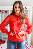 Red Hot Lace Shirt