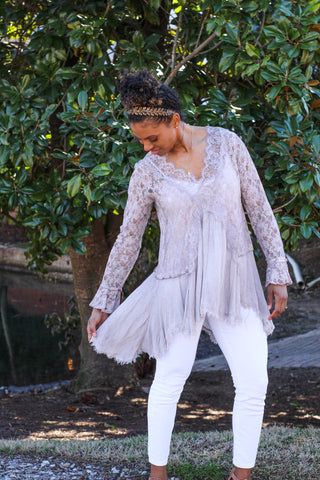 Misty Lace Tunic