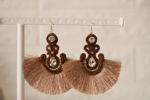 Rope Statement Earrings