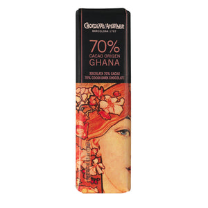 Chocolate Amatller 70% Cocoa Ghana 18g bar