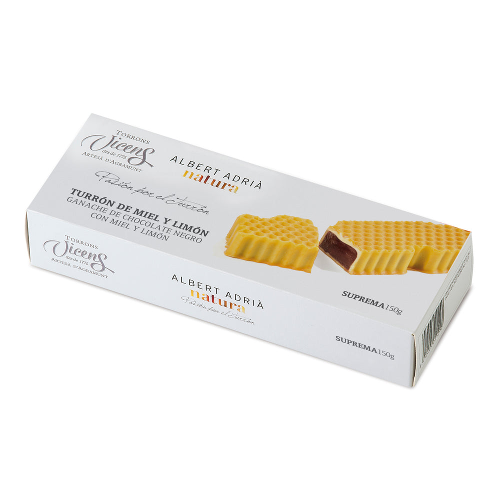 Honey & Lemon Nougat 150 g. /  Albert Adria Collection