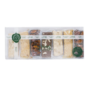 Assortment Artisanal Nougats  No Added Sugar /  7X35g.