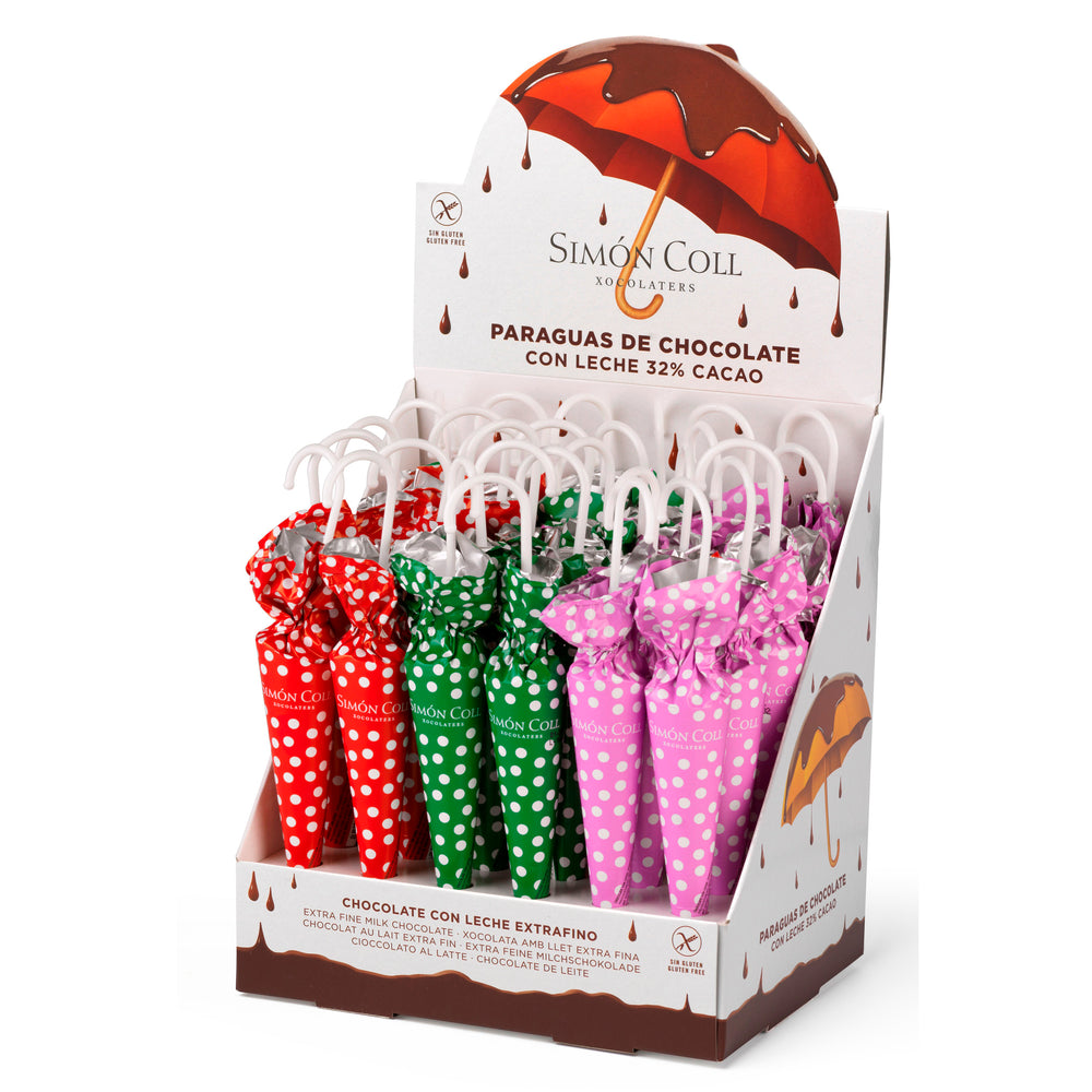 Umbrella Dots 35g Milk Chocolate